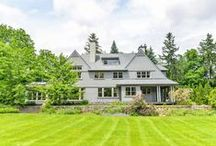 SOLD - Senneville Road, #Senneville, #Québec / SOLD - Magnificent Home and Property. Zoned agricultural. Can be farmed. Presently a small portion is being farmed. Open bright home with panoramic windows overlooking breathtaking grounds. Lily Pond. Large separate building for Garage with upper level which could be an apartment. Historical Barn app.1850 for horses. Backing unto Braeside Golf Course. Gorgeous Property for SALE