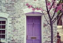 Front Doors / Front Doors, Front Entry, Home Decor, Color Splash, Bright Colors, Decorating, Painting, Home Upgrades, Curb Appeal, Home Design