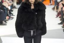 2015AW : Black : Fur & Leather