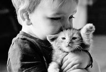 Cute Kids and Pets
