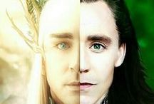Lee Pace & Tom Hiddleston / Lee pace in Thranduil & Tom Hiddleston in Loki only