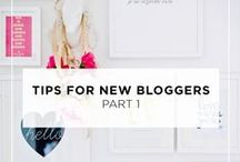 Blogging // Tips + Tricks / Tips and tricks all about BLOGGING!