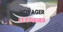 Voyager et étudier / Voyager pendant ces études, c'est possible. La preuve par l'exemple.
