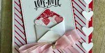su {valentine's day ideas} / DIY Valentine Crafts, Valentine Decor, Valentine ideas, primarily using Stampin' Up! products.