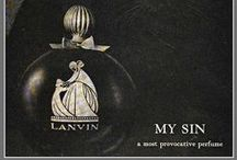 Advertizing, Labels Perfume Related / by Kathleen Byrne
