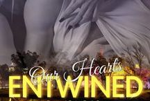 Entwined Series / Inspiration and reminders of the novels 'Our Hearts Entwined' and Our Lives Entwined by Lilliana Anderson