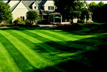 Lawn Striping / With a Simplicity tractor, you can DIY your own lawn stripes, making your yard the envy of the neighborhood. / by Simplicity