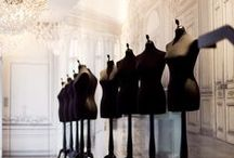 LA HAUTE COUTURE --- THE ART OF HIGH FASHION. / Haute Couture Refers To The Creation Of Exclusive Custom-Fitted Clothing. Haute Couture Is Fashion That Is Constructed By Hand (Without The Use Of Sewing Machines And Sergers/Overlockers) From Start To Finish, Made From High Quality, Expensive, Often Unusual Fabric And Sewn With Extreme Attention To Detail And Finished By The Most Experienced And Capable Seamstresses, Often Using Time-Consuming, Hand-Executed Techniques.Each Couture Piece Is Not Made To Sell. Rather,Much Like An Art Exhibition.