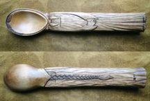 wooden spoons I - people / dřevěné lžíce