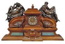 clock II / stojací a římsové hodiny