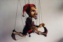marionettes - jester / kašpárci a klauni