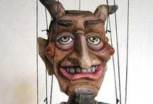 marionettes - devil / čerti a pod.