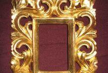 frames II / Rámy pro obrazy a zrcadla,převážně hranaté.