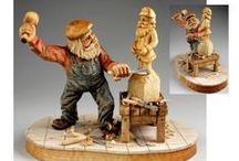 Carving - men II / současná dřevořezba