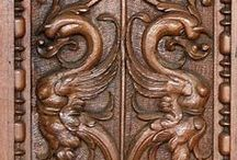 Carving - ornaments II / ornament symetrický podle osy