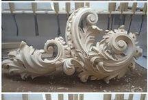 Carving - ornaments III / ornament nesymetrický