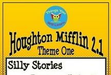 Grade 2 Reading Resources (Houghton Mifflin) / Teacher created resources for Houghton Mifflin Reading 2.1 & 2.2