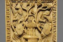 ivory and similar II / řezba reliefů do slonové kosti a podobných materiálů