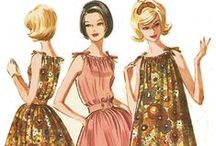 Groovy, baby!: 60's Fashion / 60s fashion. A little bit of early 70s too.