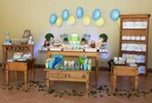 Jungle Friends Party Theme / First Birthday Boy Party