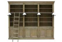 Knižnice, regály, vitríny