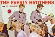 It's Everly Time! / Pictures of Don and Phil, aka The Everly Brothers.