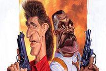 caricature - men