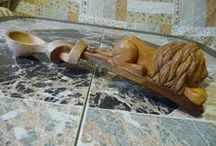 wooden spoons I - animals / dřevěné lžíce