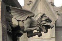 gargoyles and grotesques II / drobné sochařské doplňky architektury s motivem zvířat