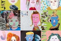 ART LESSONS: mixed media