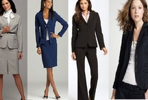 Women's Business Formal / What to wear to an interview, or with recruiters at career fairs! This would be daily work attire in very formal business settings. / by UC Davis Internship and Career Center