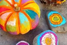 Fall/Halloween DIY Ideas / These are great craft ideas to do for the fall season!