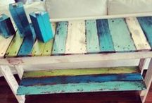 Wood Pallet Projects / Fun do it yourself projects using old recycled wood pallets!