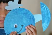 Paper Plate Crafts For Kids / Making art projects and crafts using paper plates! / by Michelle {CraftyMorning.com}