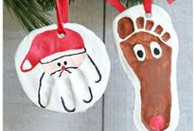 Christmas/Winter Crafts for Kids / Here are some fun DIY kids crafts to do for Christmas or just the winter season!