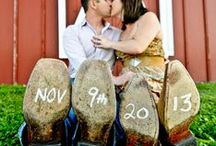 Save The Date Wedding Ideas / Here are some creative ideas to make your wedding save the date invitations!