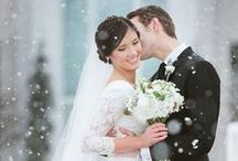 DIY Winter Wedding Ideas / Cute ideas for a winter wedding!
