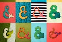 && Ampersands and/et Treble Clef && / Ampersand, treble clef / by Aggie Arbez