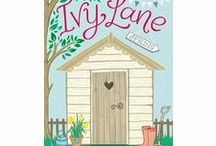 Ivy Lane - Spring / My new book, Ivy Lane is a serialized novel in four parts about Tilly Parker who needs a fresh start, fresh air and a fresh attitude if she is ever to leave the past behind and move on with her life. She takes on her own plot at Ivy Lane allotments for some peace and solitude but the vibrant, friendly Ivy Lane community has other ideas. Can Tilly let new friends into her life, or will she stay a wallflower for good?