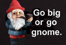 Give a Gnome a Home  <; ) / Gnomes / by Aggie Arbez