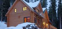 Hideaway Cabin / This two bedroom plus Loft, thee bath rustic log cabin is a large 2100 SF home that sleeps up to 10 in beds and is ideal for small and large groups. This home is located roughly seven miles south of Breckenridge and is perfect for those looking for the Colorado Mountain experience.