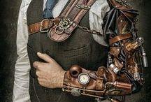 Steampunk, Biomecânico, Figuras cibernéticas, Engrenagens, H R Giger