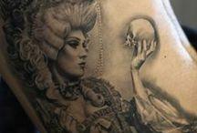 Composições fantásticas Tattoos / Composições de tattoos incríveis