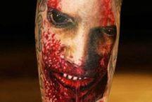 Macabras...Tattoos, fotos, cenas de filmes, coisas bizarras, etc...