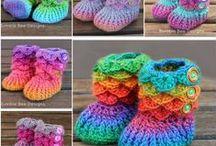 Horgolt cipő,crochet shoes