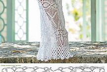 Horgolt ruha, Crochet dress