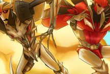 Starscream and Knockout (Transformers: Prime)