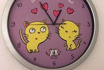 DLP - mes horloges / Ma petite collection  Derrière La Porte - très axée Valérie Nylin