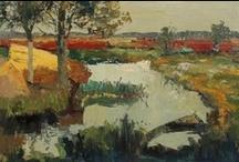 Piet Zwiers  ( Pieter Roelof Zwiers )  (1907-1965) / Dutch painter Piet Zwiers