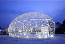 Pavilion Architecture / paviljoen